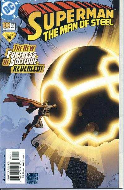 Superman: The Man of Steel #100 comic books for sale