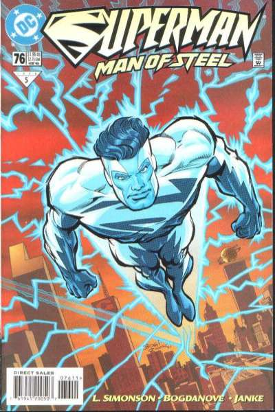 Superman: The Man of Steel #76 comic books for sale