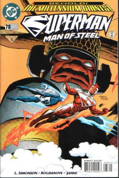 Superman: The Man of Steel #78 comic books for sale