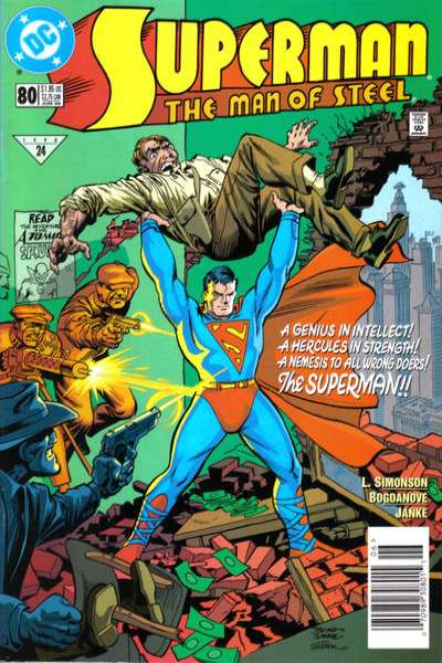 Superman: The Man of Steel #80 comic books for sale