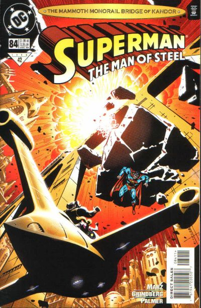 Superman: The Man of Steel #84 comic books for sale