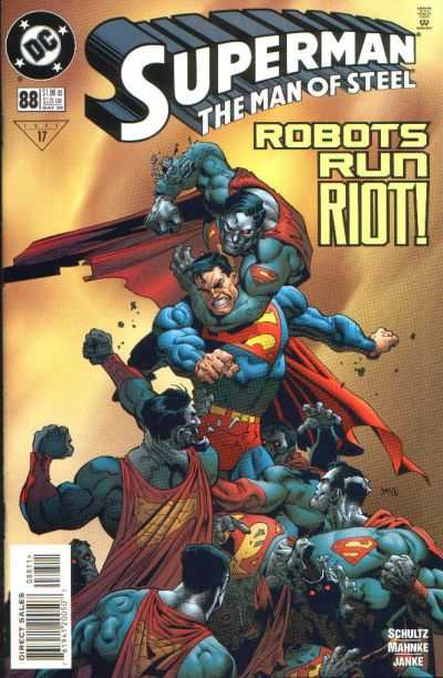 Superman: The Man of Steel #88 comic books for sale
