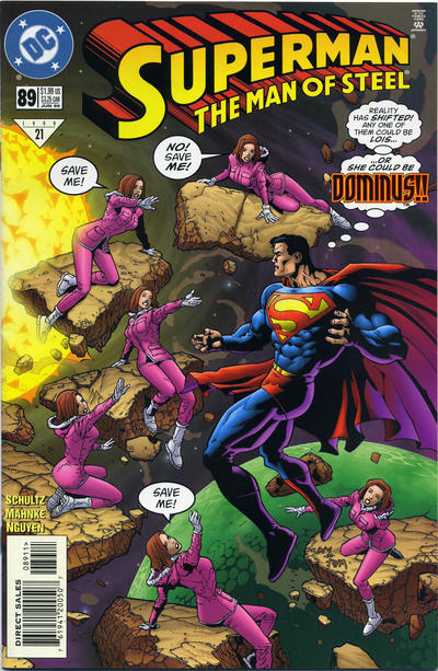 Superman: The Man of Steel #89 comic books for sale