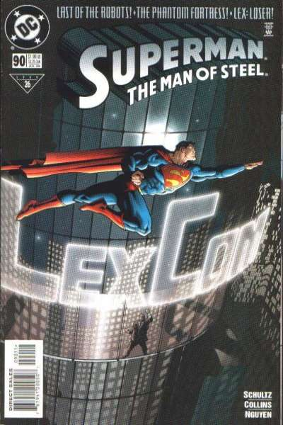 Superman: The Man of Steel #90 comic books for sale
