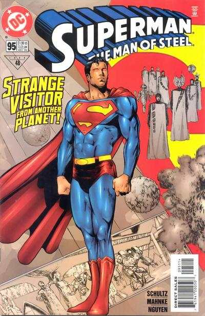 Superman: The Man of Steel #95 comic books for sale