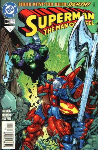 Superman: The Man of Steel #96 comic books for sale