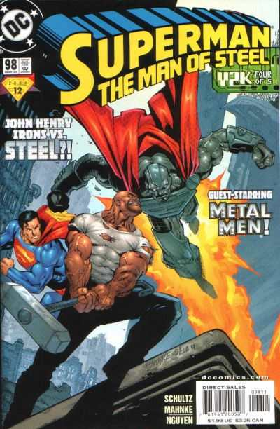 Superman: The Man of Steel #98 comic books for sale