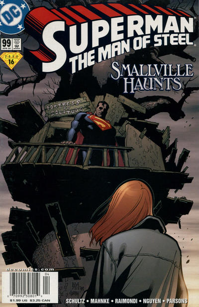 Superman: The Man of Steel #99 comic books for sale