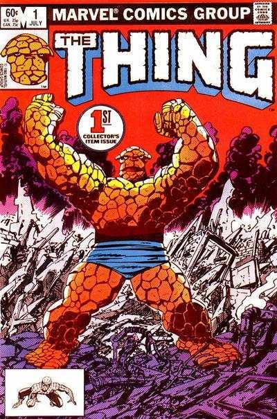 Thing Comic Books. Thing Comics.