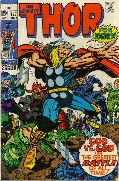Thor #177 comic books for sale