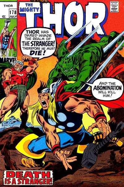 Thor #178 comic books for sale