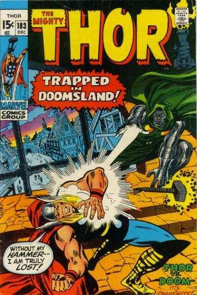 Thor #183 comic books for sale