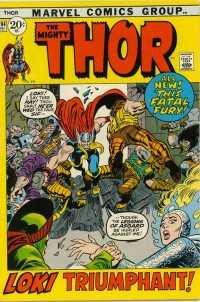 Thor #194 comic books for sale
