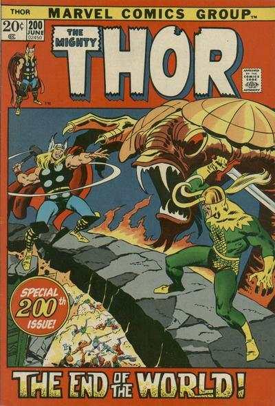 Thor #200 comic books for sale