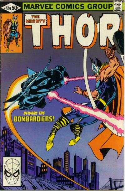 Thor #309 comic books for sale