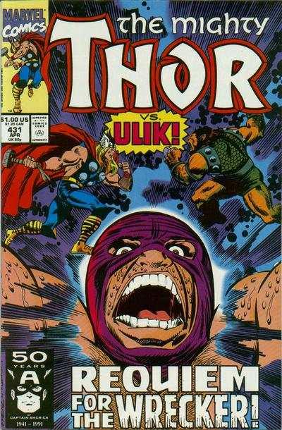 Thor #431 comic books for sale