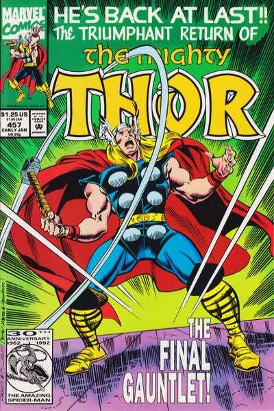 Thor #457 comic books for sale