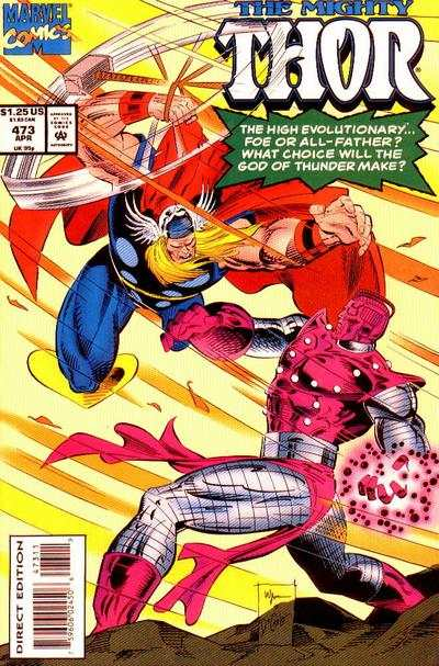 Thor #473 comic books for sale