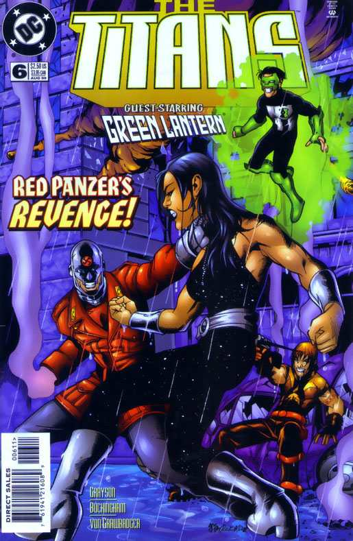 Titans (1999 series) #6 in Near Mint condition. DC comics [*9q]