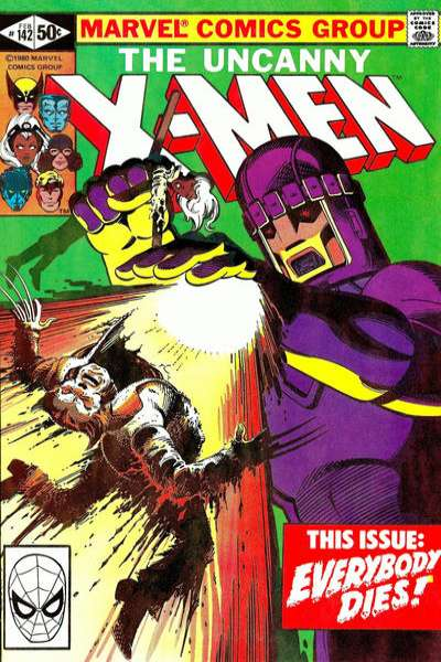 Uncanny X-Men comic books