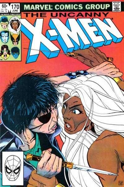 Uncanny X-Men #170 comic books for sale