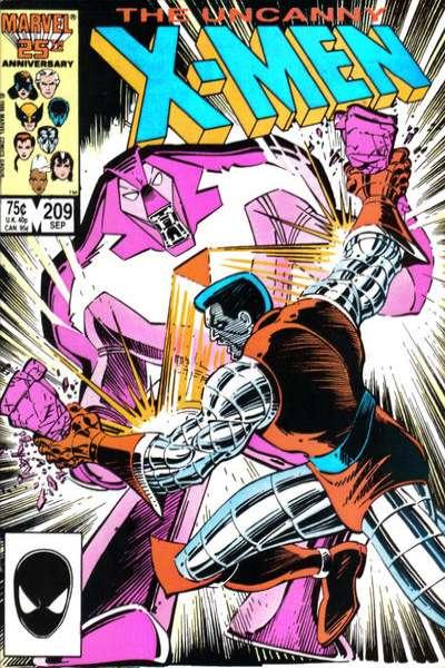 Uncanny X-Men #209 comic books for sale