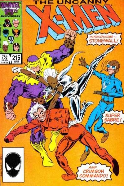Uncanny X-Men #215 comic books for sale