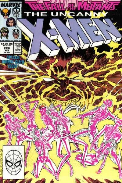 Uncanny X-Men #226 Comic Books - Covers, Scans, Photos  in Uncanny X-Men Comic Books - Covers, Scans, Gallery