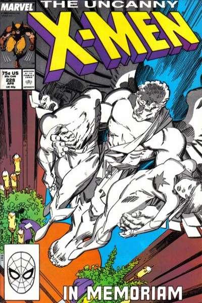Uncanny X-Men #228 Comic Books - Covers, Scans, Photos  in Uncanny X-Men Comic Books - Covers, Scans, Gallery