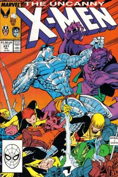 Uncanny X-Men #231 Comic Books - Covers, Scans, Photos  in Uncanny X-Men Comic Books - Covers, Scans, Gallery