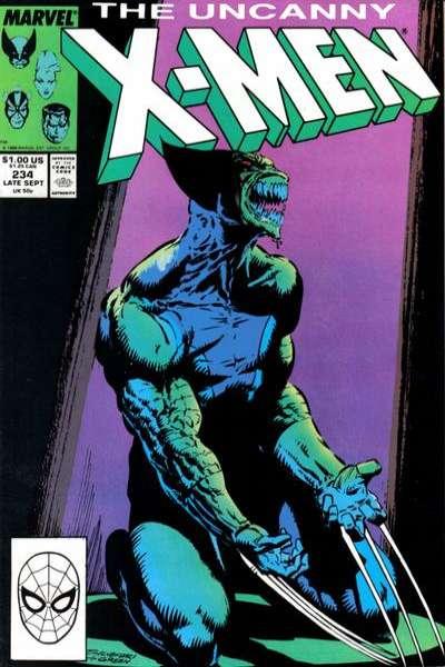 Uncanny X-Men #234 Comic Books - Covers, Scans, Photos  in Uncanny X-Men Comic Books - Covers, Scans, Gallery