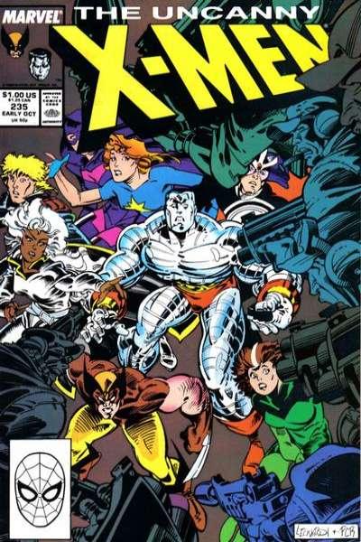 Uncanny X-Men #235 Comic Books - Covers, Scans, Photos  in Uncanny X-Men Comic Books - Covers, Scans, Gallery