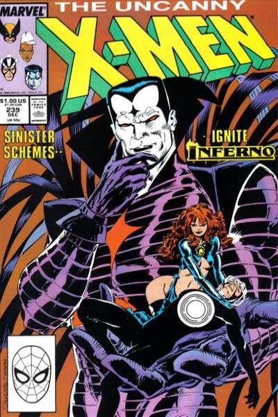 Uncanny X-Men #239 Comic Books - Covers, Scans, Photos  in Uncanny X-Men Comic Books - Covers, Scans, Gallery
