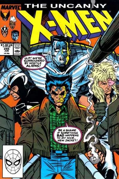 Uncanny X-Men #245 comic books for sale