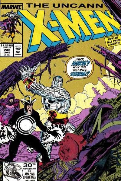 Uncanny X-Men #248 Comic Books - Covers, Scans, Photos  in Uncanny X-Men Comic Books - Covers, Scans, Gallery