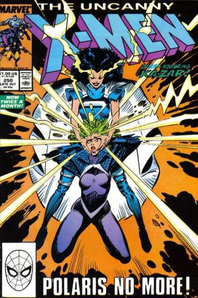 Uncanny X-Men #250 Comic Books - Covers, Scans, Photos  in Uncanny X-Men Comic Books - Covers, Scans, Gallery