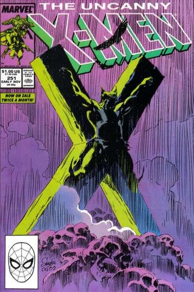 Uncanny X-Men #251 Comic Books - Covers, Scans, Photos  in Uncanny X-Men Comic Books - Covers, Scans, Gallery