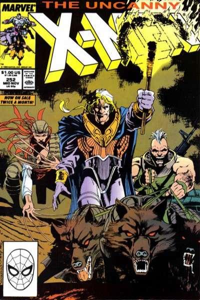Uncanny X-Men #252 Comic Books - Covers, Scans, Photos  in Uncanny X-Men Comic Books - Covers, Scans, Gallery
