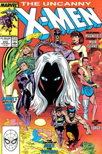 Uncanny X-Men #253 Comic Books - Covers, Scans, Photos  in Uncanny X-Men Comic Books - Covers, Scans, Gallery