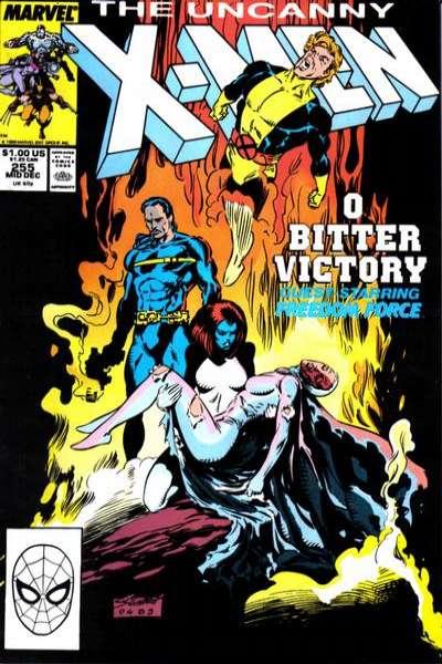 Uncanny X-Men #255 Comic Books - Covers, Scans, Photos  in Uncanny X-Men Comic Books - Covers, Scans, Gallery