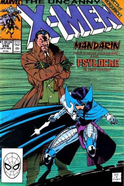 Uncanny X-Men #256 Comic Books - Covers, Scans, Photos  in Uncanny X-Men Comic Books - Covers, Scans, Gallery
