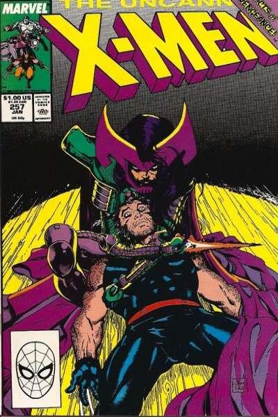 Uncanny X-Men #257 Comic Books - Covers, Scans, Photos  in Uncanny X-Men Comic Books - Covers, Scans, Gallery