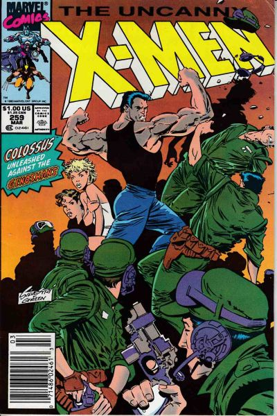 Uncanny X-Men #259 Comic Books - Covers, Scans, Photos  in Uncanny X-Men Comic Books - Covers, Scans, Gallery