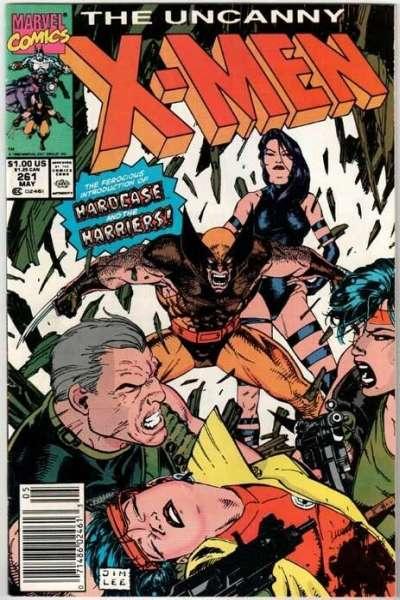 Uncanny X-Men #261 Comic Books - Covers, Scans, Photos  in Uncanny X-Men Comic Books - Covers, Scans, Gallery