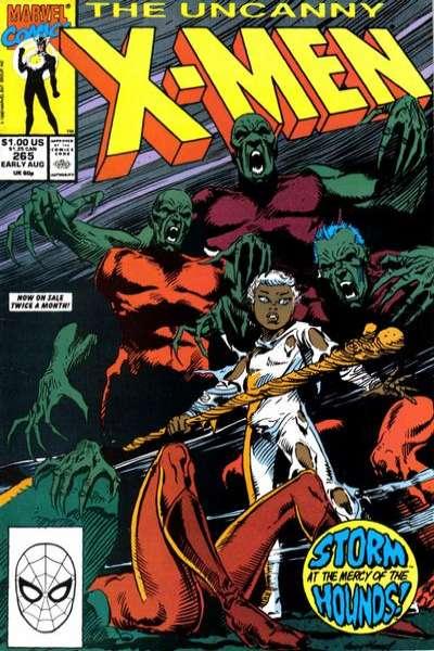 Uncanny X-Men #265 Comic Books - Covers, Scans, Photos  in Uncanny X-Men Comic Books - Covers, Scans, Gallery