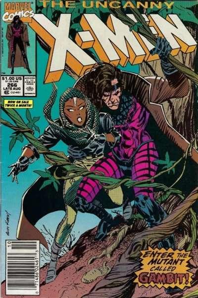 Uncanny X-Men #266 Comic Books - Covers, Scans, Photos  in Uncanny X-Men Comic Books - Covers, Scans, Gallery