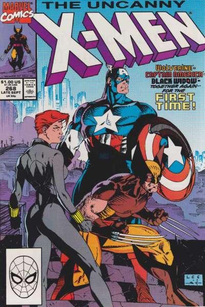 Uncanny X-Men #268 Comic Books - Covers, Scans, Photos  in Uncanny X-Men Comic Books - Covers, Scans, Gallery