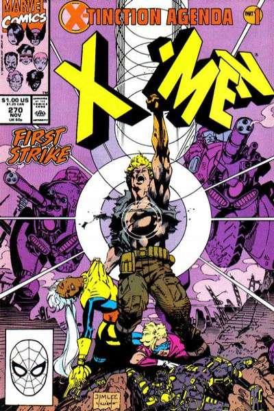 Uncanny X-Men #270 comic books for sale