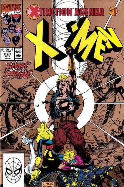 Uncanny X-Men #270 Comic Books - Covers, Scans, Photos  in Uncanny X-Men Comic Books - Covers, Scans, Gallery