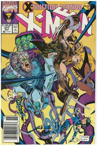 Uncanny X-Men #271 Comic Books - Covers, Scans, Photos  in Uncanny X-Men Comic Books - Covers, Scans, Gallery